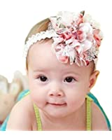 Susenstone Baby Flower Headband Girl Lace Infant Hair Weave Baby Accessories