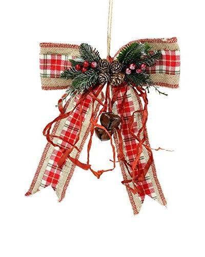 Decoracion Navideña Colgante decorativo Navidad Lazo