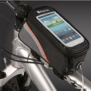 Weanas® Bike Bicycle Handlebar Frame Pannier Front Top Tube Bag Pack Rack X Large Waterproof for iPhone 6 6 Plus Samsung Mobile Phone