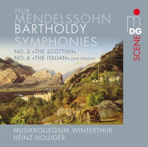 SACD : MENDELSSOHN / MUSIKKOLLEGIUM WINTERTHUR / HOLLIGER - Symphonies 3 & 4