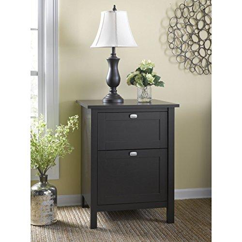 Bush Furniture Broadview 2 Drawer File Cabinet, Espresso Oak (Espresso 2 Drawer File Cabinet compare prices)