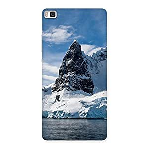 Enticing Beach Freez Hill Back Case Cover for Huawei P8