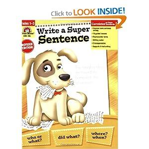 Write a Super Sentence