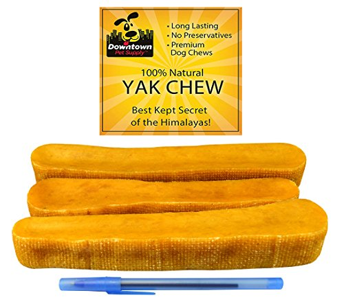 Himalayan-Yak-Dog-Chew-100-Natural-Dog-Chews-for-Small-Medium-and-Large-Dogs-Mixed-Packs-Variety-of-sizes-by-Downtown-Pet-Supply