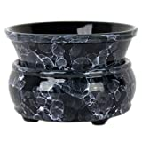 Marble Blue 2 Piece Electric Candle and Tart Warmer