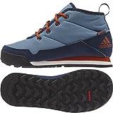 adidas Outdoor CW Snowpitch Chukka Snow Boot Blanch Blue/Craft Chili/Collegiate Navy 3.5 M US Big Kid