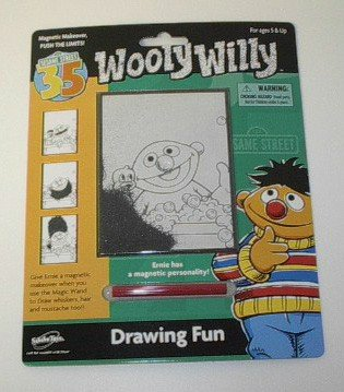 Sesame Street Wooly Willy - Ernie Drawing Fun - Buy Sesame Street Wooly Willy - Ernie Drawing Fun - Purchase Sesame Street Wooly Willy - Ernie Drawing Fun (Sababa Toys, Toys & Games,Categories,Activities & Amusements,Drawing Tablet Toys)