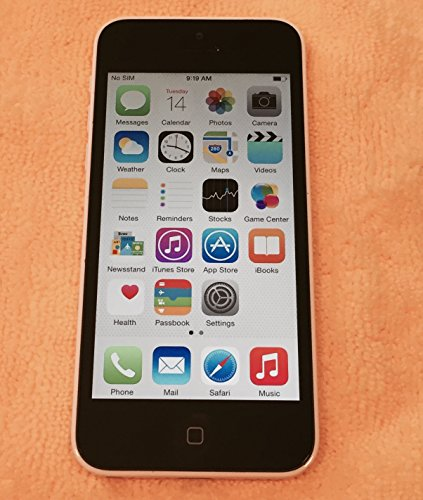 Apple iPhone 5C 32GB Factory Unlocked GSM Dual-Core Smartphone – White