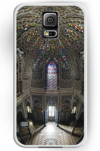 Sprawl New Fashion Design Ulak Luxury Hard Skin Samsung Galaxy S5 God-Fearing Prayerful Case Colorful Church Ceiling