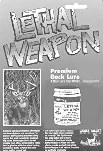James Valley Lethal Weapon Premium Buck Lure by James Valley Scents