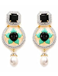 Akshim Multicolour Alloy Earrings For Women - B00NPY8FEG