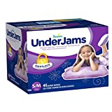 Pampers UnderJams Absorbent Nightwear Size 7, Big Pack Girl, 46 Count by American Health & Wellness