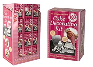 Pms 100 piece cake decorating kit for 100 piece cake decoration kit