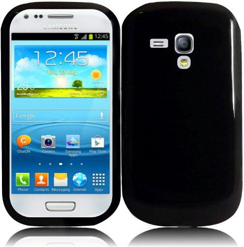 For Samsung Galaxy S3 Mini i8190 TPU Cover Case Black Accessory (Sport Case Samsung S3 Mini compare prices)