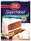 Betty Crocker Super Moist Carrot Cake Mix