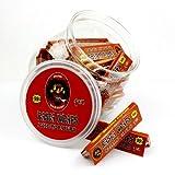 Rasta Wraps 1 1/4 Rolling paper, 1/jar,