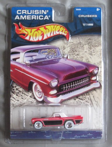 Hot Wheels Cruisin' America Cruisers '57 T-Bird PINK