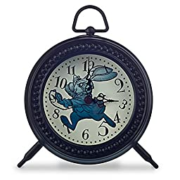 Disney Store Alice Through the Looking Glass Desk Clock