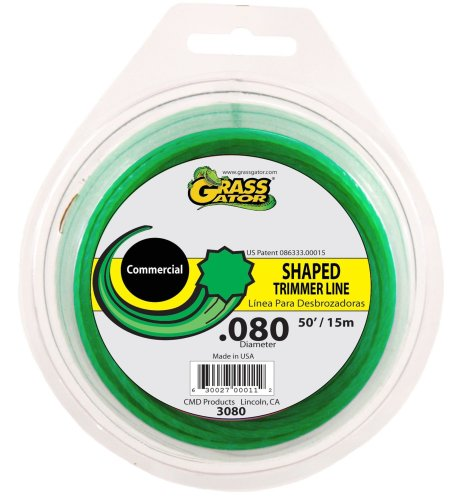 Grass Gator 3080 String Trimmer Line .080 X 50-Feet