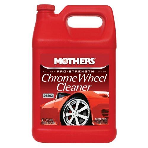 how to keep chrome wheels clean