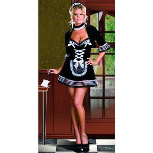 Maid My Day Costume - Small - Dress Size 2-6
