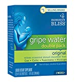 Mommy's Bliss Original Gripe Water for Baby's Tummy Trouble Relieves Occasional Infant Stomach Discomfort from Gas and Colic, and Helps with Fussiness, Hiccups and Teething, 4 fl oz bottle (2 Pack)