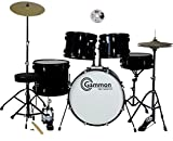 Full Size Complete Adult Drum Set with DVD Earplugs Cymbals...