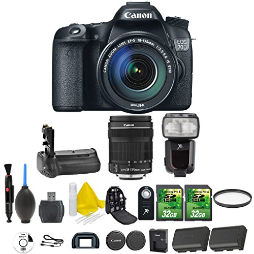 canon eos 70d 20 2 mp digital slr camera with dual pixel