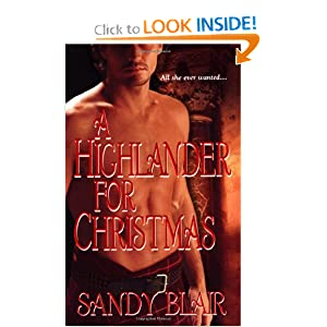 A Highlander for Christmas Sandy Blair