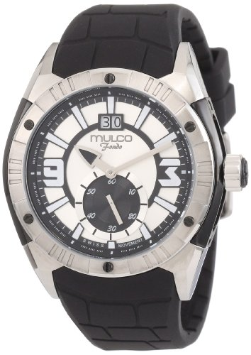 Mulco Unisex MW1-18265-021 Fondo Croco Swiss Movement Watch