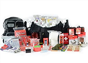 Cold Weather Emergency Bug Out Bag - Deluxe 2 Person Go Pack - Disaster Prepper Kit -... by Legacy Premium Food Storage