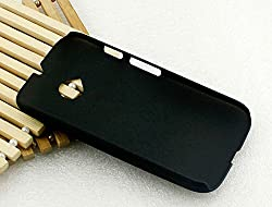 Pudini Grip Series Case Cover for Motorola Moto E 2nd Gen Moto E2 - Free Screenguard - Black