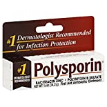 Polysporin First Aid Antibiotic Ointment, 0.5 oz (14.2 g)