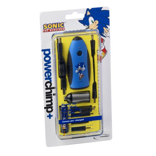 PowerTraveller Sonic The Hedgehog Powerchimp Tragbares Ladegerät
