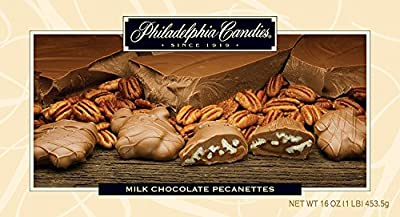 Philadelphia Candies Milk and Dark Chocolate Caramel Nut Clusters (Almond, Cashew, Pecan, Walnut) from Philadelphia Candies