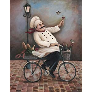 Art Prints Fat Chef Kitchen Fat Chef Kitchen