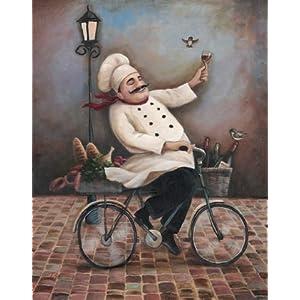 Art Prints Fat Chef Kitchen Fat Chef Kitchen