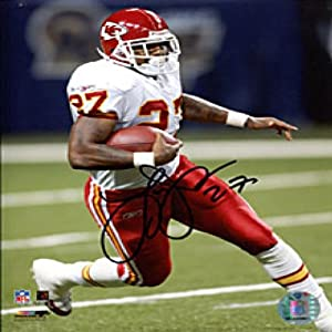 Larry Johnson Autographed Signed 8x10 Photo - Kansas City Chiefs by Hollywood Collectibles