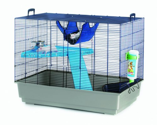 Savic Freddy 2 Navy Blue Rat And Ferret Cage 80 X 50 X 63 Cm