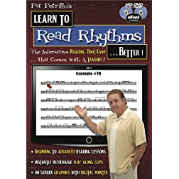 Pat Petrillo's Learn To Read Rhythms Better