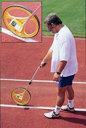 Metric Measuring Wheel - Meters and Decimeters
