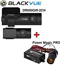 buy Blackvue New 2 Channel Dr650Gw-2Ch 128Gb With Power Magic Pro, Car Black Box/Car Dvr Recorder, Built-In Wi-Fi, Full Hd(1080P@30Fps), Up To 128Gb Support