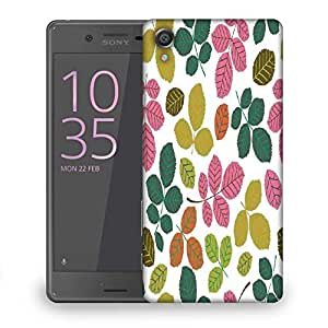 Snoogg Colorful Branches Designer Protective Phone Back Case Cover For Sony Xperia X Dual
