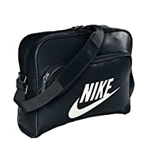 Nike Unisex-Adult Heritage Si Club Bag Sail Fs Black/Sail Fs12 Black/Sail Fs12