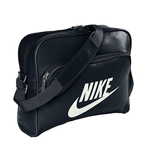 Nike Heritage Si Track Borsa, Black/Black/(Sail), Taglia Unica