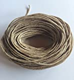 50ft of Hemp Wick by Bee Wick Hemp (1.0mm)
