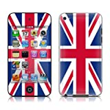 iPod Touch 4G skin - Union Jack - High quality precision engineered removable adhesive skin for 4th Generation iPod Touch 4 / 4G (8gb / 32gb / 64gb) from 2010 & 2011by DecalGirl iPod Touch 4...