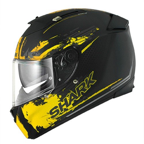 HE4618EKYAXS - Shark Speed-R Duke Mat Motorcycle Helmet XS Yellow (KYA)
