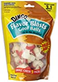 Dingo Flavor Blasts Goofballs, Small, 9-Count