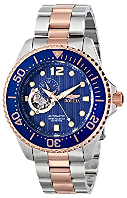 "Invicta Men's 15416 ""Pro Diver"" Stainless Steel and 18k Rose Gold Ion-Plated Watch"